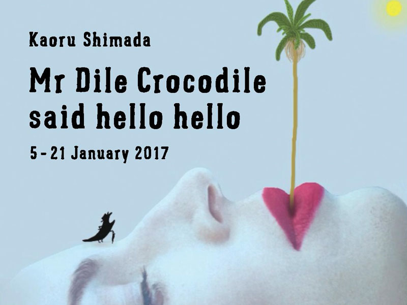 PAST EXHIBITION: Mr Dile Crocodile said hello hello