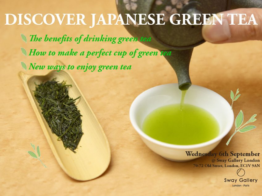 PAST EVENT: Discover Japanese Green Tea!