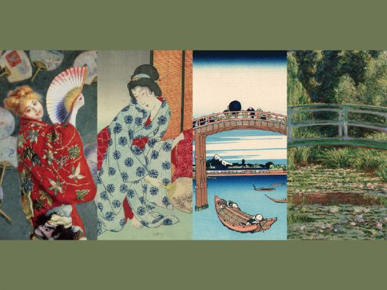 CURRENT EXHIBITION: UKIYO-E AND IMPRESSIONISTS