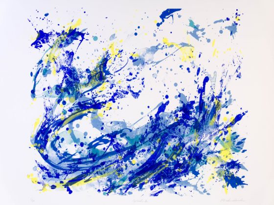 PAST EXHIBITION: SHAPES OF WATER – PRINT WORKS & WORKS ON PAPER