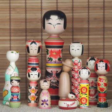 PAST POP-UP EVENT: Japanese Kokeshi, Tohoku and beyond
